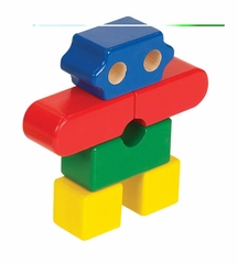 Educational Toy - Primary Puzzles Robot in Multi - Guidecraft - G2019