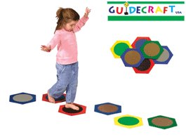 Educational Toy - Sensory Stepping Stones - Guidecraft - G99002