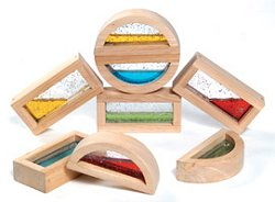 Educational Toy - Shimmering Water Blocks - Guidecraft - G3013