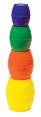 Educational Toy - Stack'N Sort Barrels - Guidecraft - G16900