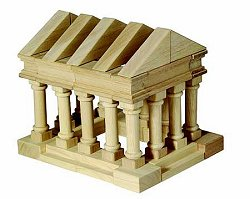 Educational Toy - Table Top Greek Blocks - Guidecraft - G6104
