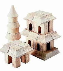 Educational Toy - Table Top Oriental Blocks - Guidecraft - G6102