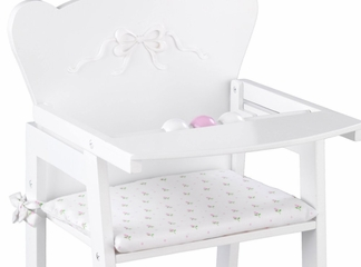 Educational Toy - Tiffany Bow Doll High Chair - KidKraft Furniture - 61111