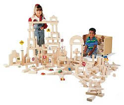 Educational Toy - Unit Blocks (45 Pcs) - Guidecraft - G93402