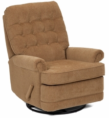 Edward Recliner in Collingdale Brass - 87602100812