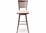 Edwin Memory Return Swivel Bar Stool - Amisco - 41498-26