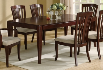 El Rey Dining Table in Deep Cherry - Coaster - 101621