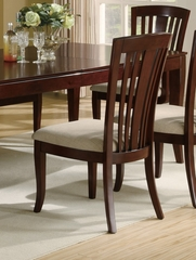El Rey Side Chair (Set of 2) in Deep Cherry - Coaster - 101622-SET