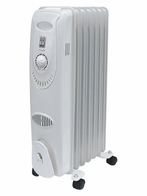 Electric Heater - 7-Fin Oil Filled - Seasons Comfort - EOF211
