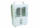 Electric Heater - Milkhouse Style Utility Heater with Plug - Seasons Comfort - EUH322