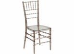 Elegance Crystal Brown Stacking Chiavari Chair - BH-BRN-CRYSTAL-GG