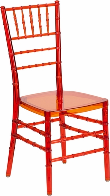 Elegance Crystal Crimson Stacking Chiavari Chair - BH-CRIM-CRYSTAL-GG