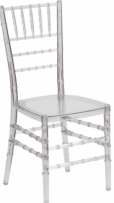 Elegance Crystal Ice Stacking Chiavari Chair - BH-ICE-CRYSTAL-GG