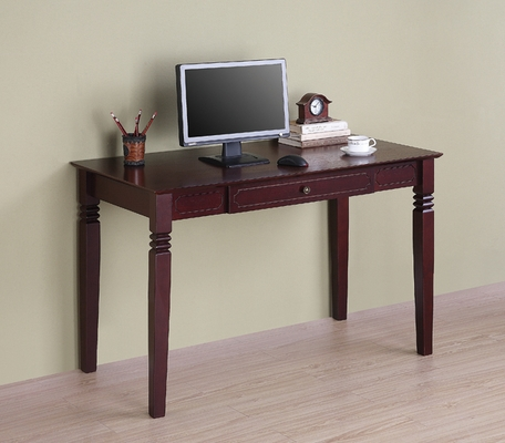 Elegant Solid Wood Desk in Walnut Brown - DW48S30WB