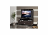 Element 56'' TV Console with Decorative Wall Panel - Nexera Furniture