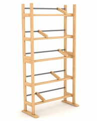 Element Media Rack in Maple - Atlantic - 35535687