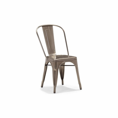 Elio Gunmetal Dining Chair - Set of 4 - Zuo