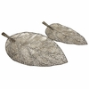 Elise Cutwork Leaf Trays (Set of 2) - IMAX - 12967-2