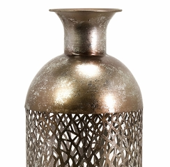 Elise Tall Cutwork Bottle - IMAX - 12966