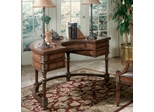 Elite Demilune Desk With Drawers - Free Shipping