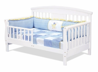 Elizabeth II Convertible Toddler Bed - DaVinci Furniture - M0810