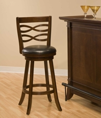 Elkhorn Swivel Counter Stool - Hillsdale Furniture - 4467-826