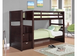 Elliott Twin Bunk Bed in Cappuccino - 460441