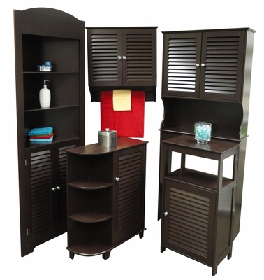 Ellsworth Bathroom Furniture Set in Espresso - RiverRidge - 06-BATH-SET-2