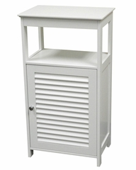 Ellsworth Single Door Floor Cabinet in White - RiverRidge - 06-029