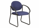 eluxe Sled Base Arm Visitors Chair - Office Star - V3460