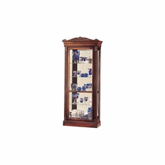 Embassy Display Cabinet in Cherry - Howard Miller