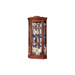 Embassy II Curio Cabinet in Embassy Cherry - Howard Miller