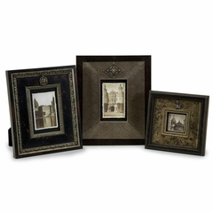 Embellished Frames (Set of 3) - IMAX - 21131-3