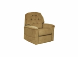 Embrace Power Lift Chair with Heat & Massage in Flax - Catnapper