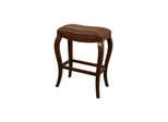 Emilio Stool in Suede - American Hertiage - AH-130840