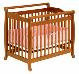 Emily Convertible Mini Crib - DaVinci Furniture - M4798