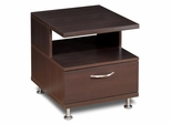 End Table - Eclipse Collection in Espresso - Nexera Furniture - 450408
