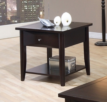 End Table in Cappuccino - Coaster