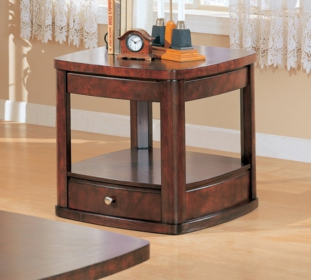 End Table in Cherry / Brown - Coaster