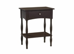 End Table in Chocolate - Shaker Cottage - Alaterre - ASCA01CL