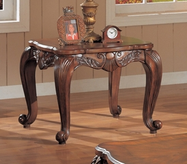 End Table in Deep Brown - Coaster