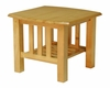 End Table in Golden Oak - Stanford Mission - 38-1044-002