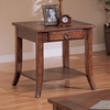 End Table in Medium Oak - Coaster