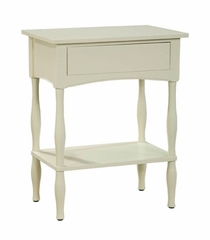 End Table in Sand - Shaker Cottage - Alaterre - ASCA01SA