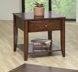 End Table in Walnut - Coaster