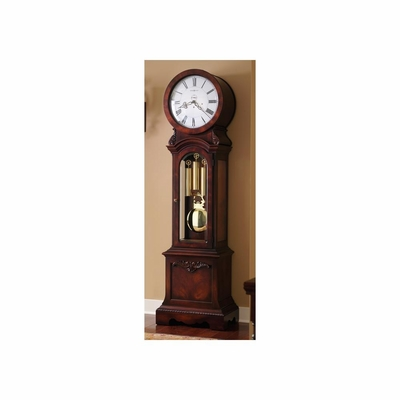 Engels Grandfather Clock in Windsor Casual - Howard Miller