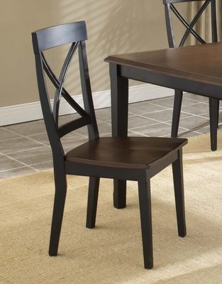 Englewood X-Back Side Chair (Set of 2) - Hillsdale Furniture - 4884-802