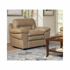 Enterprise Saddle Leather Club Chair - Largo - LARGO-ST-L2450-403