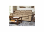 Enterprise Saddle Leather Sofa - Largo - LARGO-ST-L2450-401