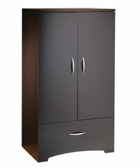 Entertainment Armoire in Chocolate - South Shore Furniture - 3159038